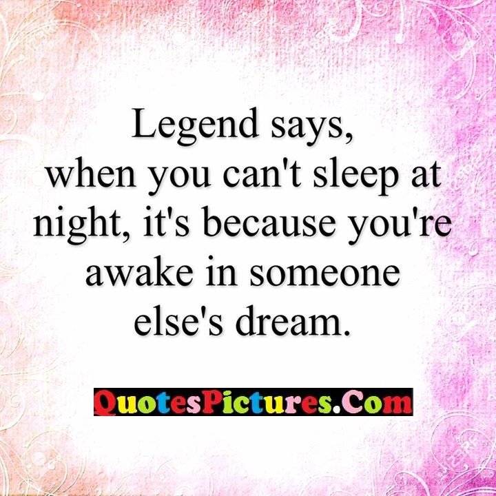 legend sleep awake dream