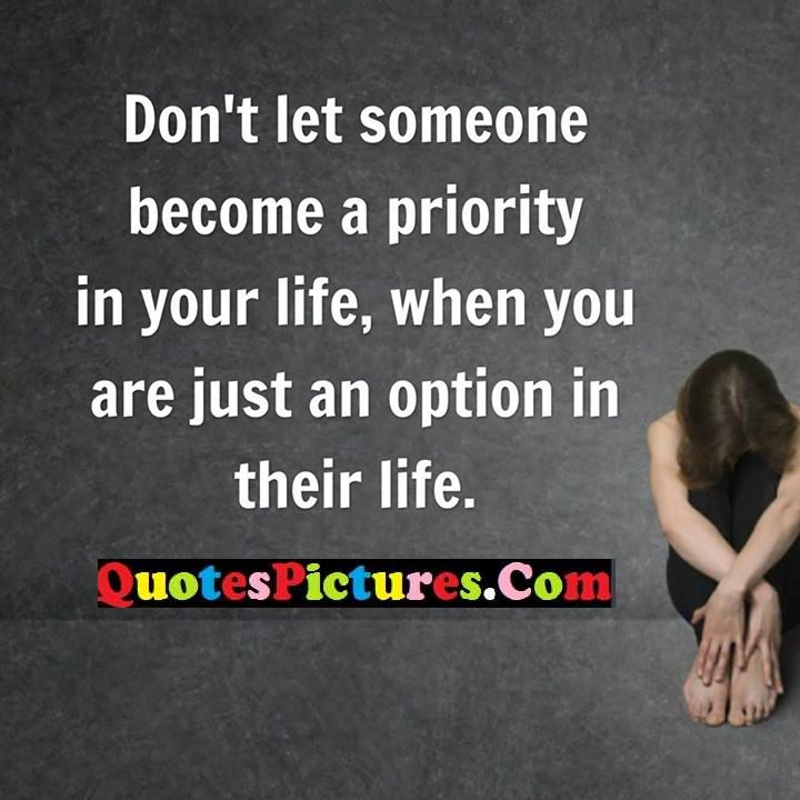 let priority just option