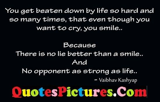 life cry better strong