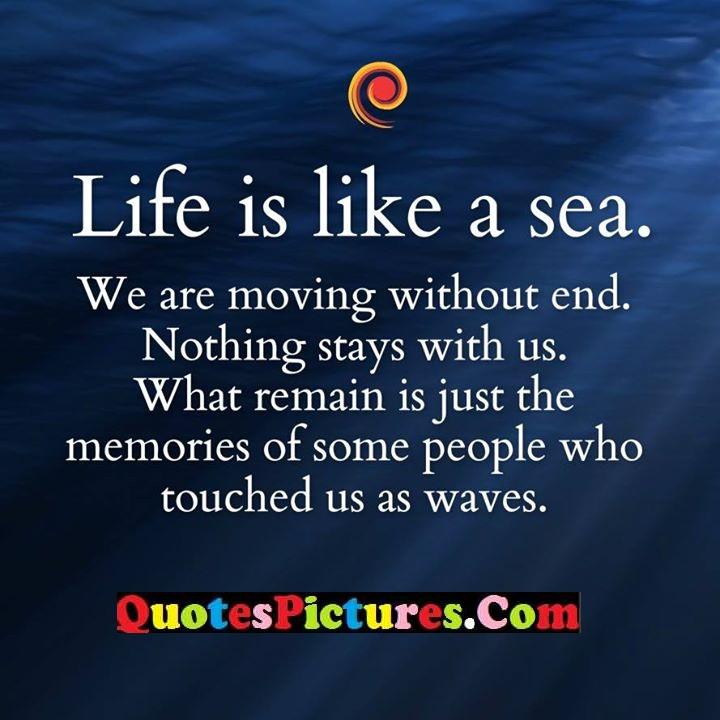 life like nothing remain memories waves