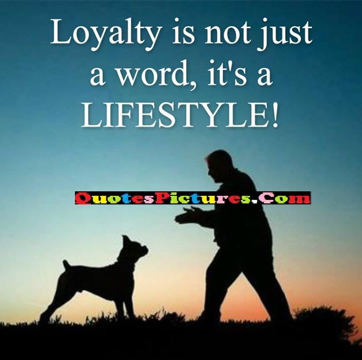 loyalty just word lifestyle