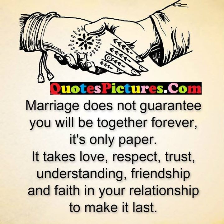 marriage guarantee together love friendship relationship