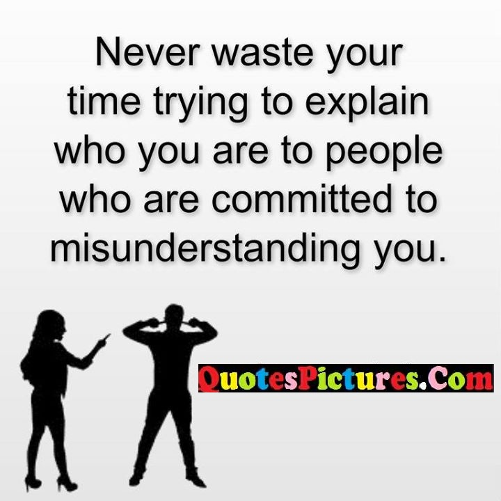 never waste explain committed