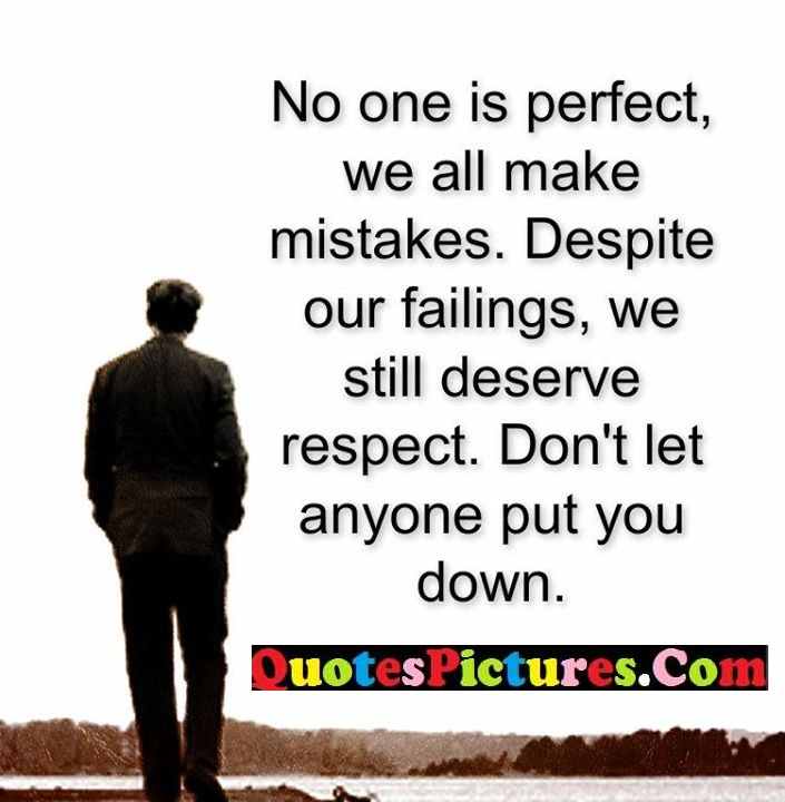 perfect mistakes deserve down