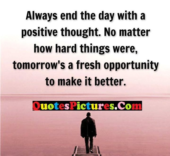 positive matter things opportunity
