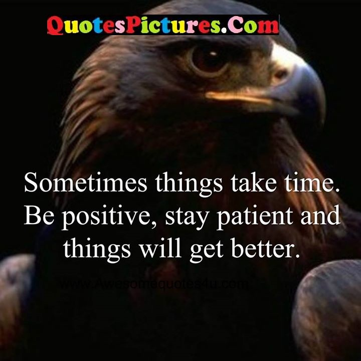 positive stay patient