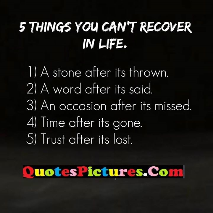 recover life stone gone lost