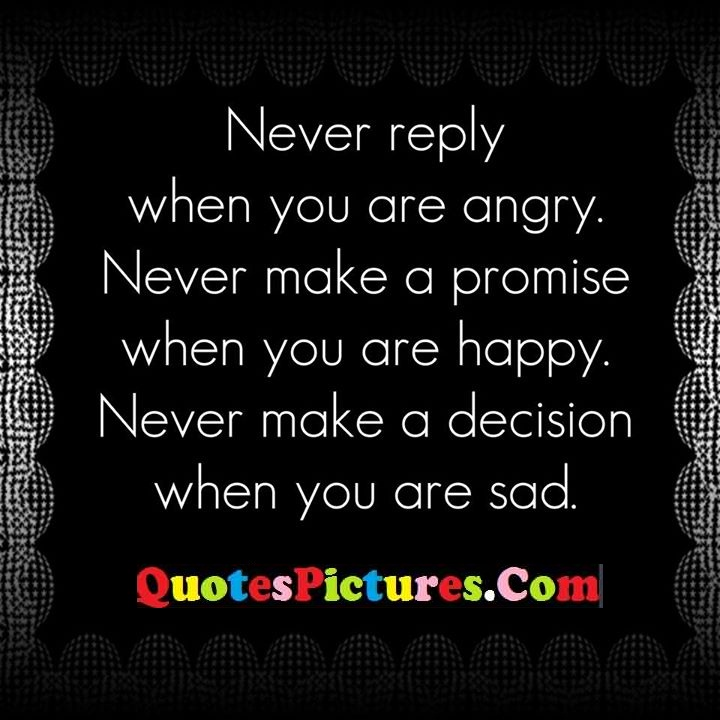 reply never promise decision sad