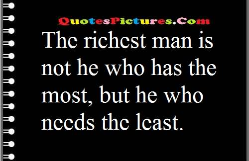 richest man needs