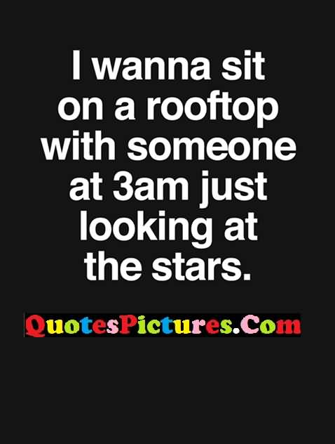 Romantic star night quotes