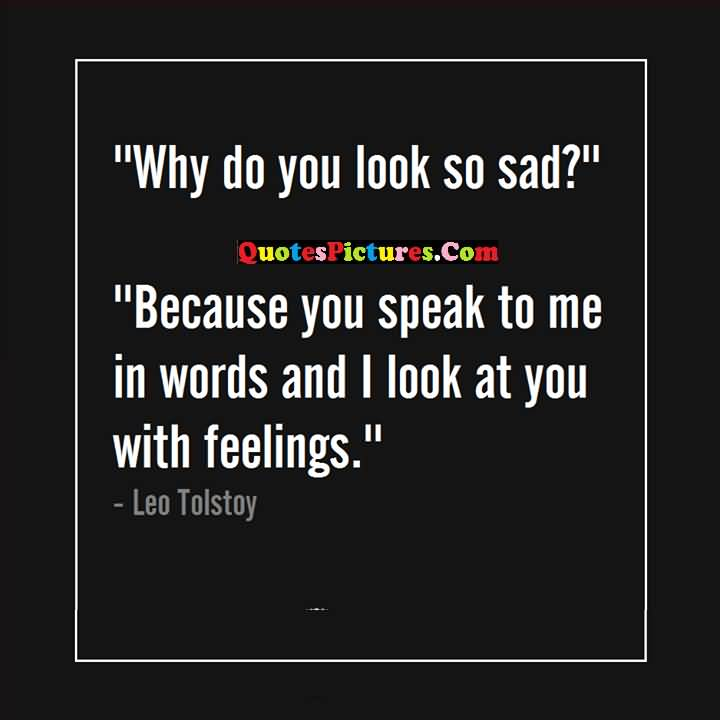 Sad Feelings words quotes