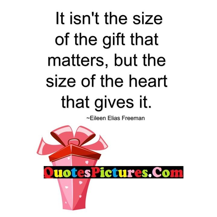 size matters heart gives