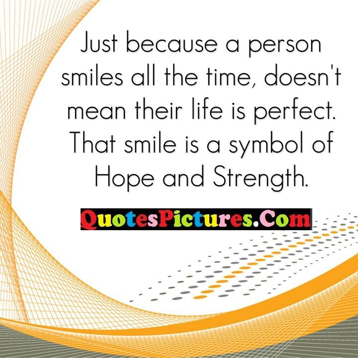 smiles time perfect symbol strength