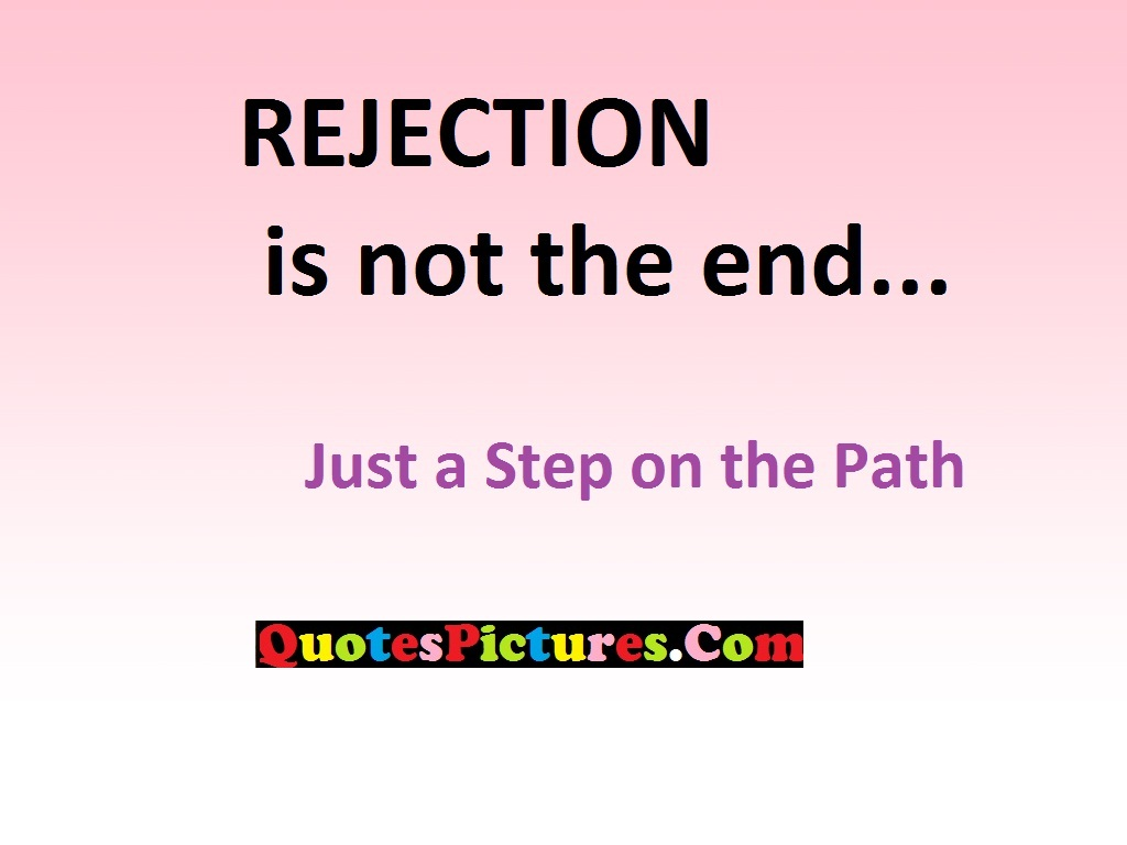 Smoking Quote - Rejection Letters A Step On The Path…