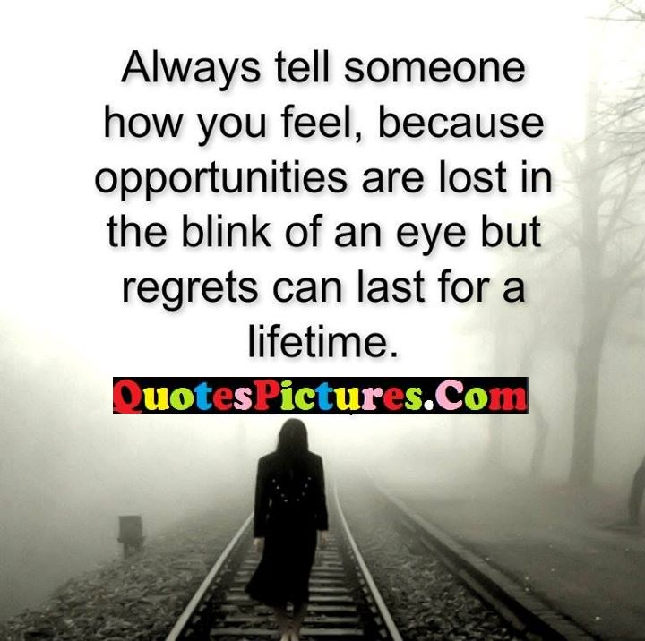 someone feel lost regrets lifetime