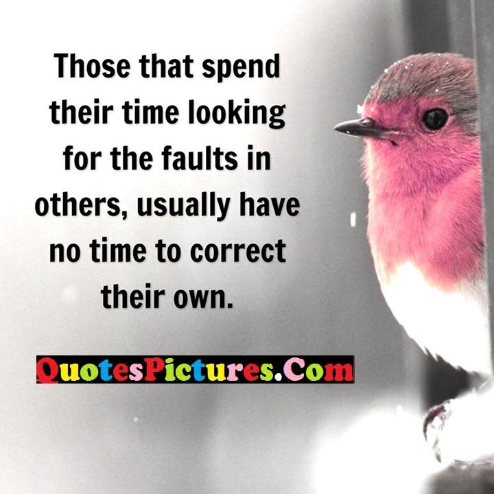 spend time faults correct