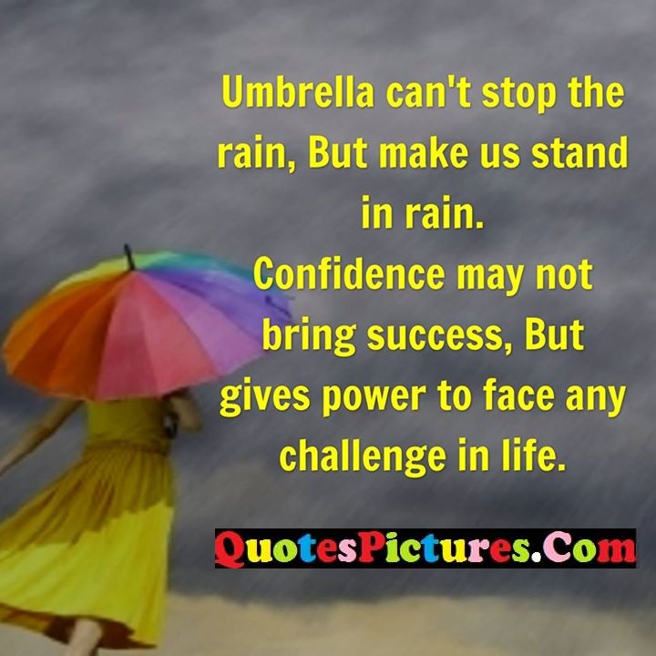 stop rain stand success power