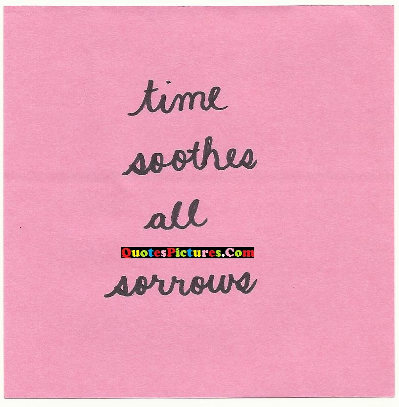 Submission Quote - Time So Other All Sorrows.
