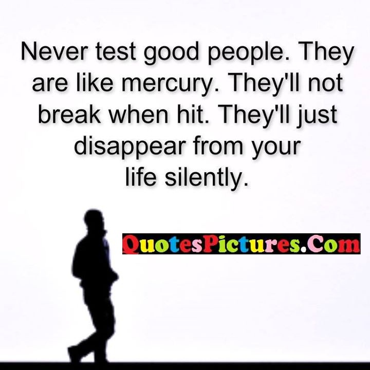 test good mercury disappear silently