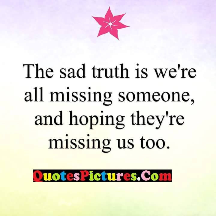 truth missing hoping