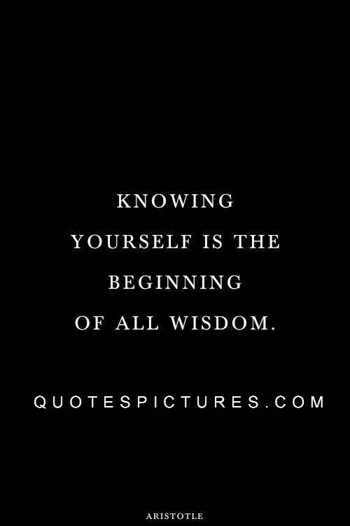 your self wisdom awesome quote