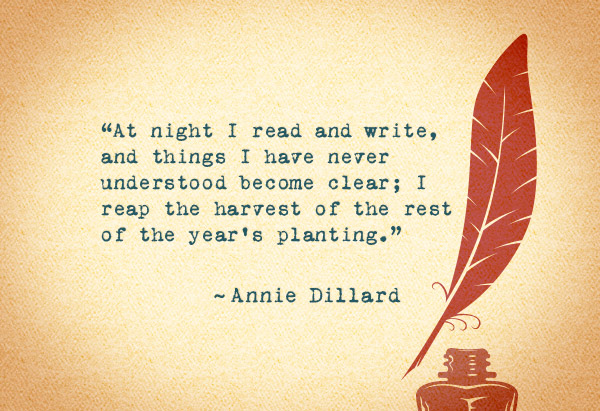 Annie Dillard Quote And Annie Dillard  Sayings Images