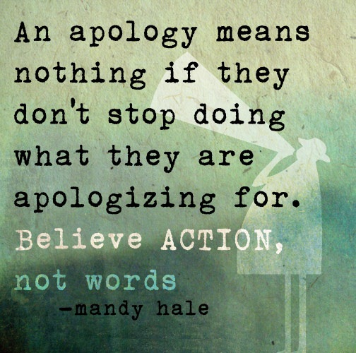 Apology Quotes And Apology Sayings Images