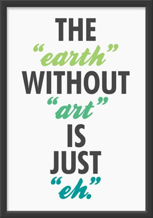 cute quotes about art