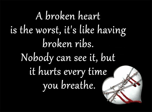 Broken Heart Quotes And Broken Heart Sayings Images