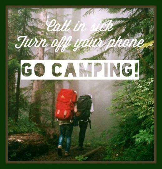 Camping Quotes And Camping Sayings Images