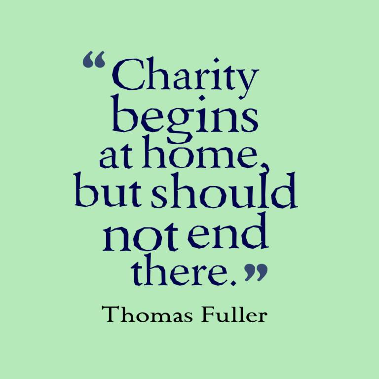 Charity Quotes And Charity Sayings Images