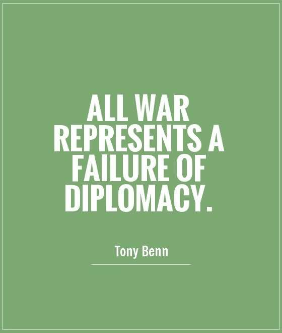 Diplomacy Quotes Diplomacy And Sayings Images