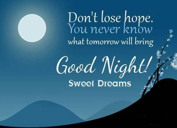 Good Night Quotes And Good Night Sayings Images