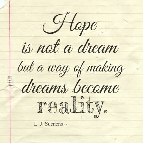 Hope Quotes And Hope Sayings Images