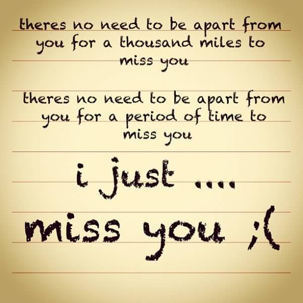 Missing You Quotes And Missing You Sayings Images