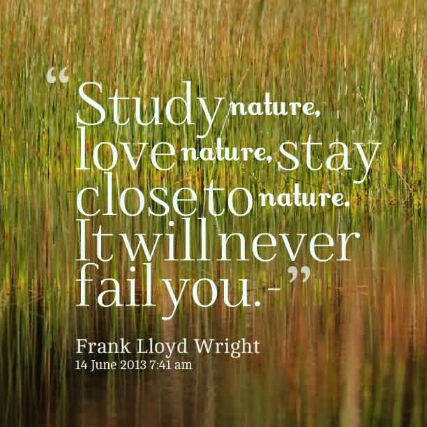Nature Quotes And Nature Sayings Images