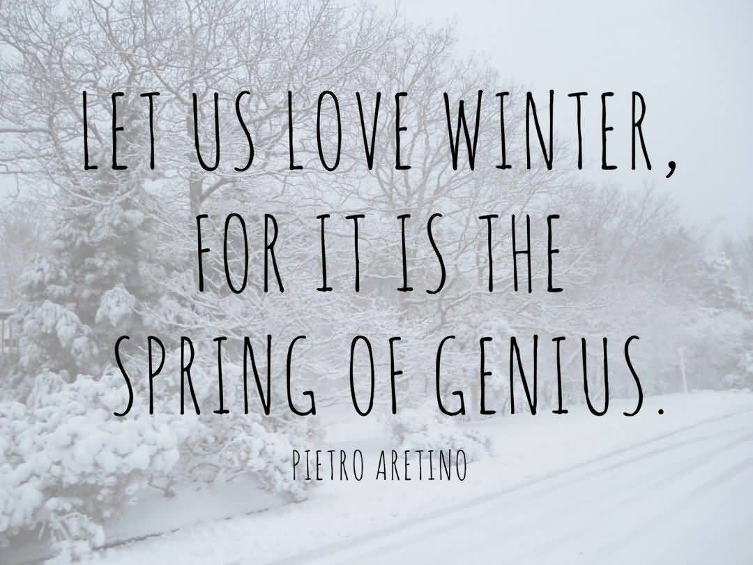Winter Quotes And Winter Sayings Images