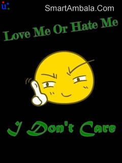 I Hate You For Making Me To Love You Attitude Quote Quotespictures Com