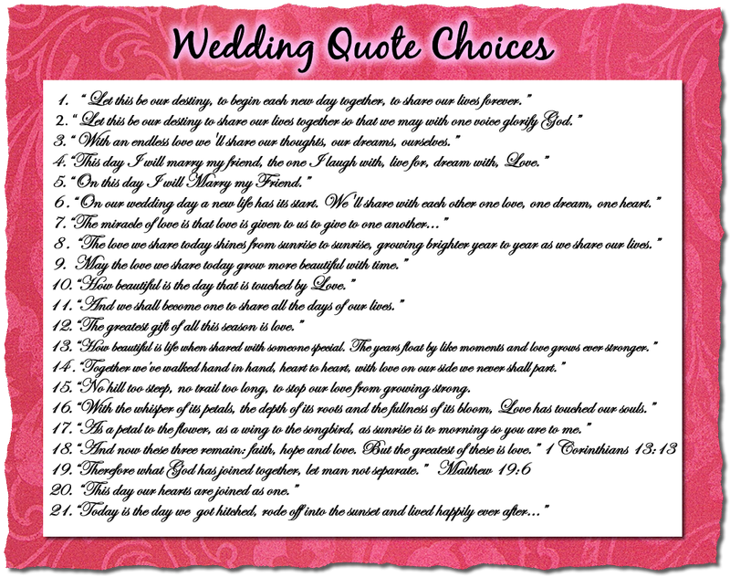 Funny Quote About Wedding
