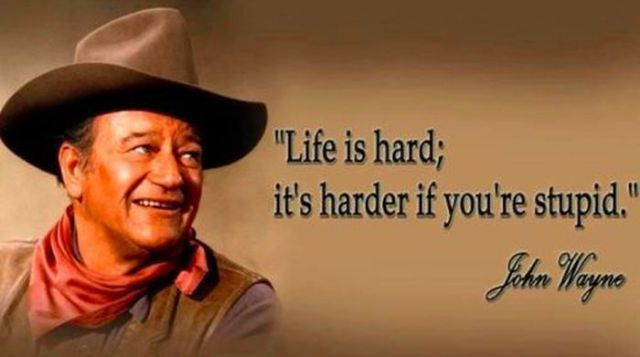 "Stupid Inspirational Quotes Life is Hard,It's Harder If You're Stupid"" ~ Inspirational Quote  Stupid Inspirational Quotes"