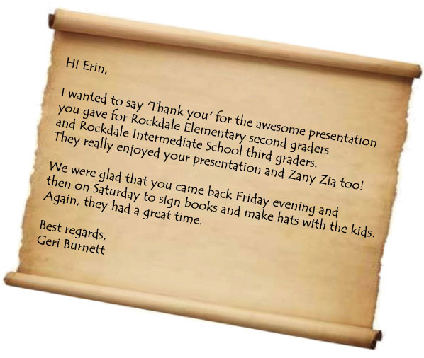 Hi Erin I Wanted To Say Thank You For The Awesome Presentation