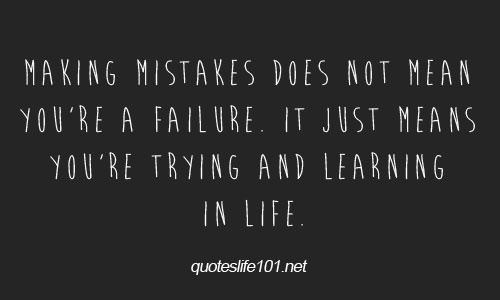 Mistake Quotes Pictures and Mistake Quotes Images with Message - 48