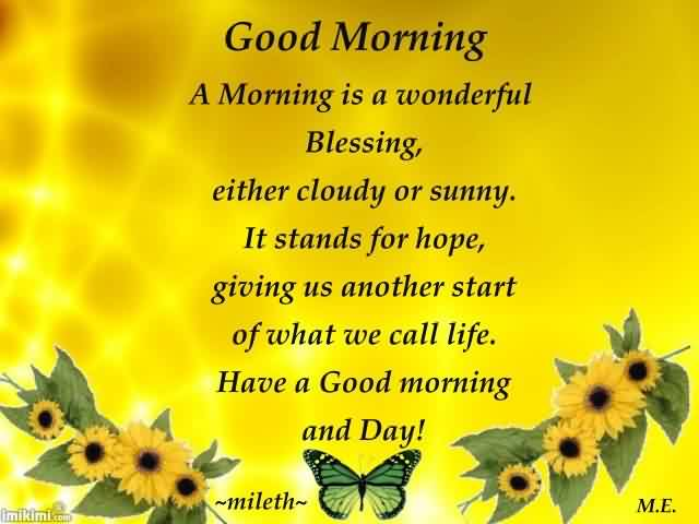 Good Morning Quotes Images (226 Quotes) - Page 3 ...