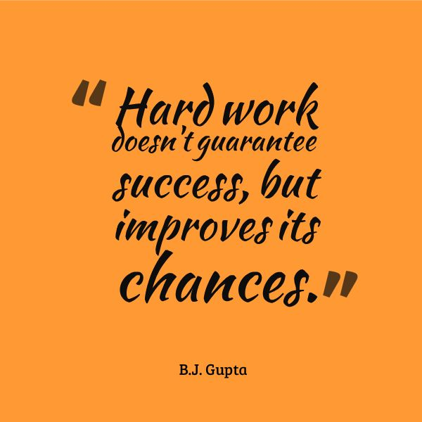 Success Quotes For Work Motivational Quotes About Success In Work Quotes by B.J. Gupta  Success Quotes For Work