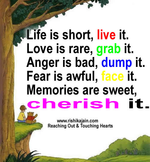 Sweet Life Quotes With Cartoon Picture Memories Are Sweet Cherish It Quotespictures Com